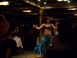 Belly dancer!