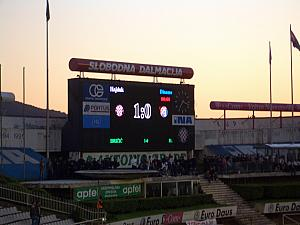 Game Over - Hajduk Split wins!