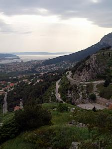 View from Klis Fortress.