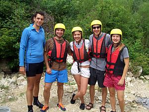 Ready for rafting!