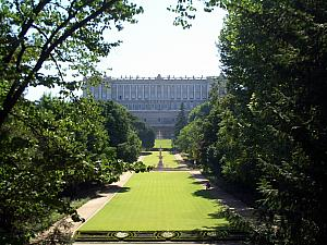 Campo del Moro park - the 'back yard' of the Royal Palace