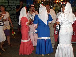 Ladies in traditional attire