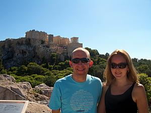 Admiring Acropolis from another viewpoint.