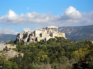 Picturesque viewpoint of Acropolis.