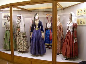Traditional costumes.