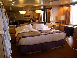 Our wonderful cruise suite for the four kids!