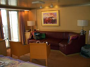 Our wonderful cruise suite!