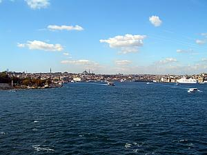 Arriving in Istanbul, Turkey