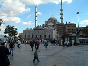 The New Mosque(Yeni Camii) in Istanbul.