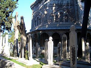 Cemetary in Istanbul.