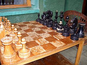 Old chess set.