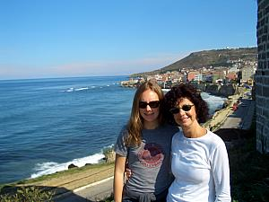 Kelly and Mom in Sinop