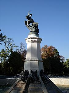 Fountain in Retiro Park