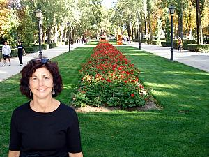 Mom in Retiro Park