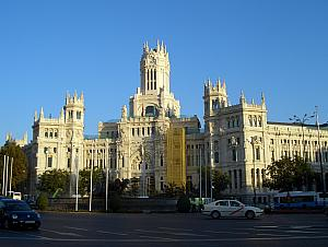 Palacio de Comunicaciones - old post office / future parliament building