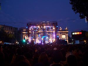FREE MTV EMA Concert at the Puerto Alcala, we saw 30 Seconds to Mars, Katy Perry and Linkin Park!