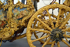 Nymphenburg's carriage and sleigh museum