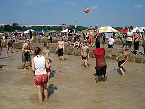 Mud Volleyball in Cleveland, OH