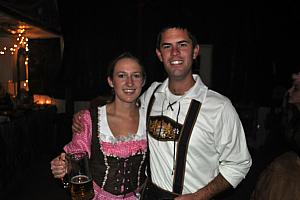 Lederhosen couple!
