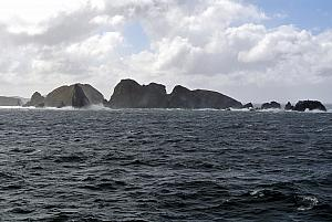 Nearing Cape Horn - the southernmost point of South America!