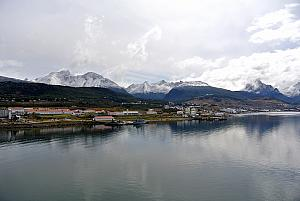 "Ushuaia, Argentina, self-proclaimed ""fin del munde"" or the ""End of the World""! It's the southernmost city in South America."
