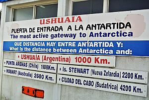 Ushuaia is the most active gateway to Antarctica!
