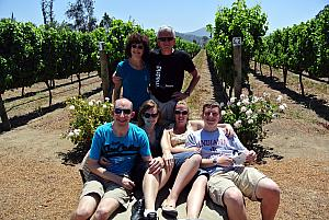 Vina del Mar, Chile - Visiting a winery