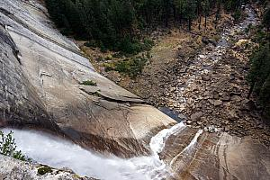 Geronimo!? (Looking down from the edge of the Nevada Fall)