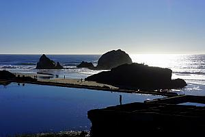 Sutro Baths, and the Pacific Ocean.