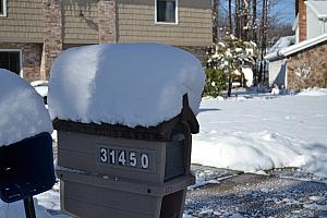 "They received about 10"" of snow!"