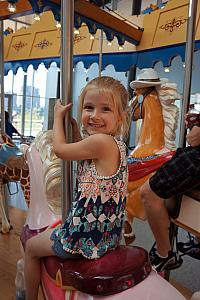 Cardin carousing on the Carousel. (Such alliteration.)