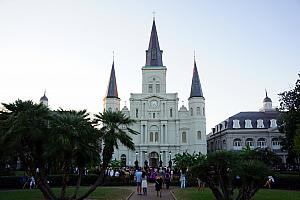 St. Louis Cathedral at Jackson Square.