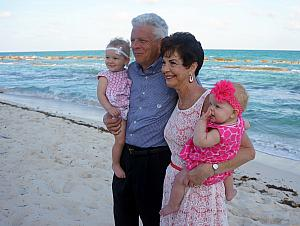 Family photo shoot - Grandparents and Granddaughters