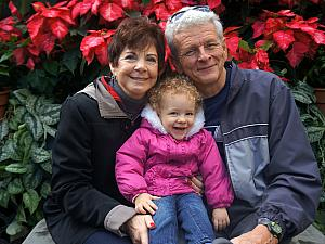 Capri with Grammy and Grandpa 2