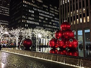 Kelly traveled to NYC for work and visited some of the Christmas displays - Rockefeller Center.