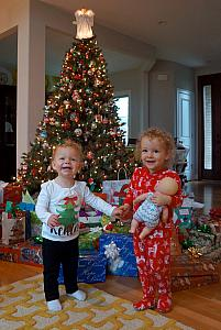 Merry Christmas from Kenley and Capri